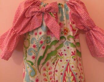 Boho chic girls size 2 dress