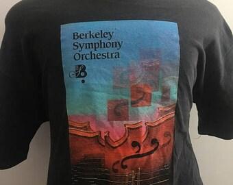 SALE Vintage Berkeley Symphony Tshirt