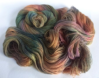 Sea Spiral Sock Yarn.  Over The Sea And Far Away
