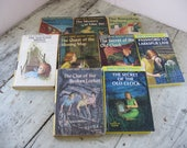 nancy drew mystery collection 9 volumes  great gift mid century fiction hard cover
