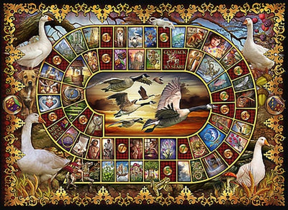 Lenormand  Game of Goose