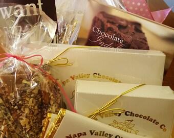 Gifts for Her, Chocolate Gift Box, Chocolate Truffles, Wine Truffles, Dark Chocolate Bars, English Toffee, Corporate Gifts, Chocolate Gifts