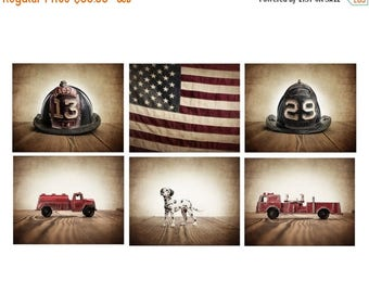 Fire Truck Decor Etsy