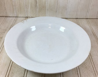 Vintage Ironstone Alfred Meakin Soup Bowl