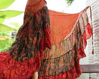 Ariel on Earth Ruffle Wrap Skirt - OG0517-05