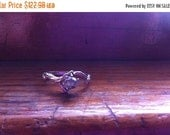 20%Off Be My Valentine Genuine Raw Diamond Twig Ring Grey White Stone Claw Mount Engagement Sterling Silver pebble size 2 3 4 5 6 7 8 9 10 h