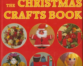 Vintage 1970's Christmas Crafts Book