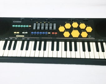 Vintage Casio MT-520 Keyboard Synthesizer Circuit Bending Drum Synth