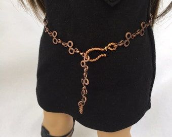 18 inch doll belt or necklace