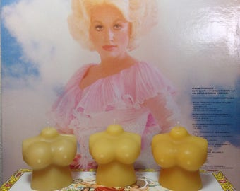 Dolly Parton Beeswax Candle