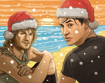 POINT BREAK Christmas Card