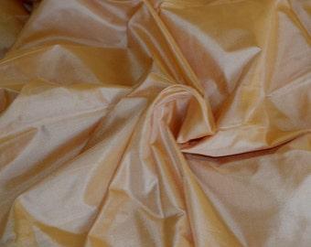 Silk Taffeta in   sandal wood colour  -  fat quarter -TF 116