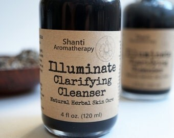 Illuminate Clarifying Cleanser - Activated Charcoal for Chaotic Skin - Paraben Free - Sulfate Free