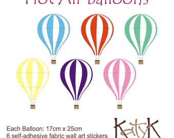 Hot Air Balloons - Wall Art