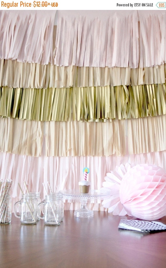 sale wedding backdrop fringe curtain photography by pomtree. Black Bedroom Furniture Sets. Home Design Ideas