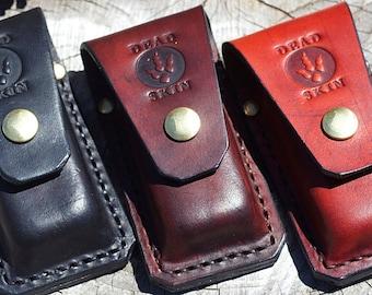 Leatherman multitool leather sheath-WAVE or SIDEKICK pouch handmade