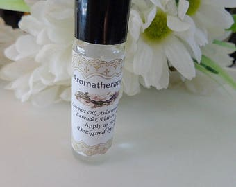 Aromatherapy Oil for Stress Reduction, Natural Aromatherapy Perfume