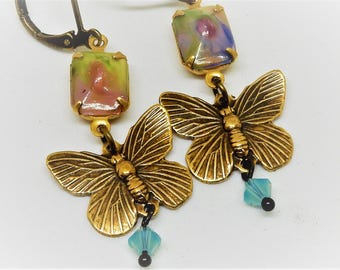 Butterfly Earrings, Butterfly Jewelry