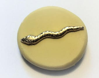 Snake- flexible silicone push mold / craft/ dessert/ mini food / resin/ wax and more.