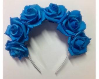 Flower Crown Rose tiara headdress summer festival accessories
