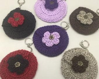 Crochet Coin Purses/Key Chains