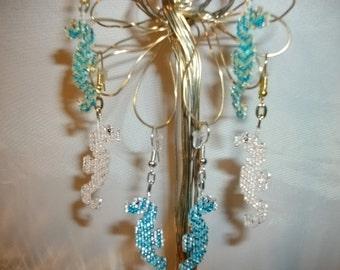Sea Horse Earrings  O