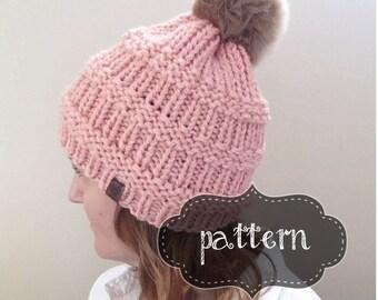 Treeline Toque   Knitted Toque   Textured Knit Toque   Knit Winter Hat