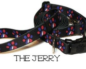 Grateful Dead Dog Collar (Webbing), The Jerry, Grateful Dead Dog Collar, Dead Dog Collar, Jerry Garcia, Grateful Dead Leash sold separately