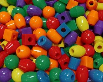 Jumbo Large Big Lacing Beads Bird Toys Huge Hole