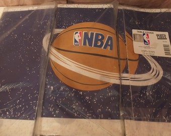 NBA Basketball Party Paper Table Covers Set Of 3