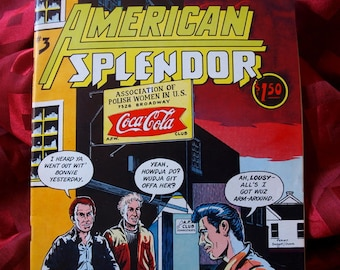American Splendor #3 First Printing 1978 Robert Crumb Harvey Peckar Graphic Comix Humor Satire adult mature