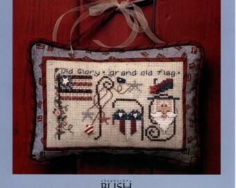 Shepherd's Bush: FLAG -  a Monthly Musings Cross Stitch Kit