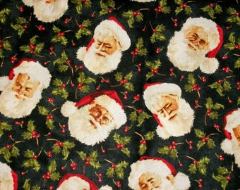 Christmas Fabric, By The Yard, Maywood Studios, Santa Claus Collection, Sewing Crafting Fabric, Novelty Fabric, Quilting Fabric, Santa