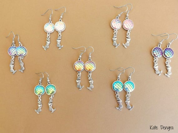 Mermaid Scale Earrings
