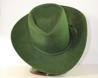Pinch Front Cowboy Hat Size 7 Hatters Inc Fort Worth