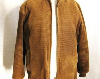 Mens Jacket , Corduroy , Towncraft , Brown , Brown Corduroy , Coat , Pennys , Outerwear , Mans Coat , Mens Clothing , Winter Jacket , Winter