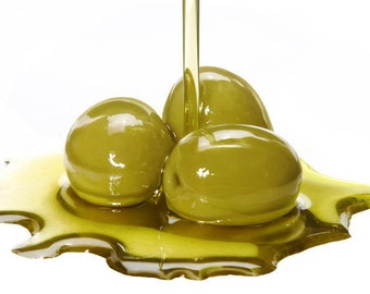 OLIVE OIL, (4 oz size) Organic Extra Virgin, Top Shelf Pure Carrier Oil for soap making, lotions, bath oils, massage