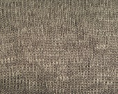"END OF BOLT 2 Yards by 58"",Heather Mocha Lightweight Sweater Knit Fabric,Apparel Fabric,2 Way Stretch,Soft Sweater Knit Fabric,Scarf Fabric"