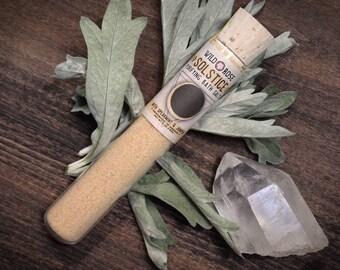 Bath Salts Spa Detox SOLSTICE Pink Himalayan Salt + French Yellow Clay 2oz Test Tube