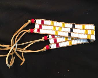 Mens Beaded arm band
