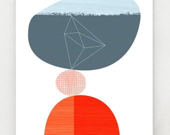 Equilibrium, art print