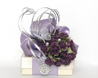 Favor Box Jewelry Gift Box Lavender Gift BoxesWedding Favor  Box Gift Ideas Birthday Gift Gift Ideas Wedding Party Gifts Prewrapped Boxes