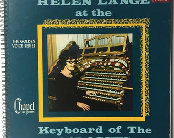 Helen Lange Recycled Record Album Cover Book