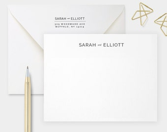 A Perfect Pair, Personalized Stationery for Couples