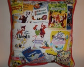 Classic Disney Movies Pillow