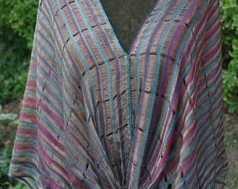 Wonderful casual handwoven shrug