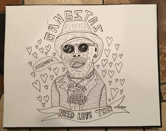 Master P (original drawing)