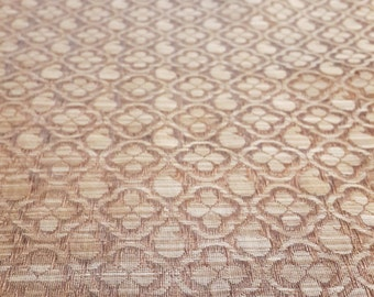 jacquard fabric, indian jacquard, woven yardage, ready to sew, antique gold brocade, indian brocade, gold fabric, bronze fabric yardage