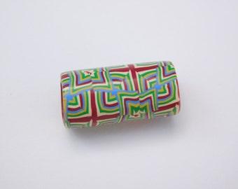Polymer Clay Dread Bead, 7 mm bead hole