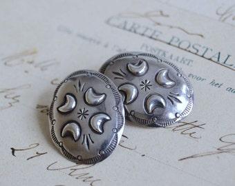 Vintage Native American Earrings - Sterling